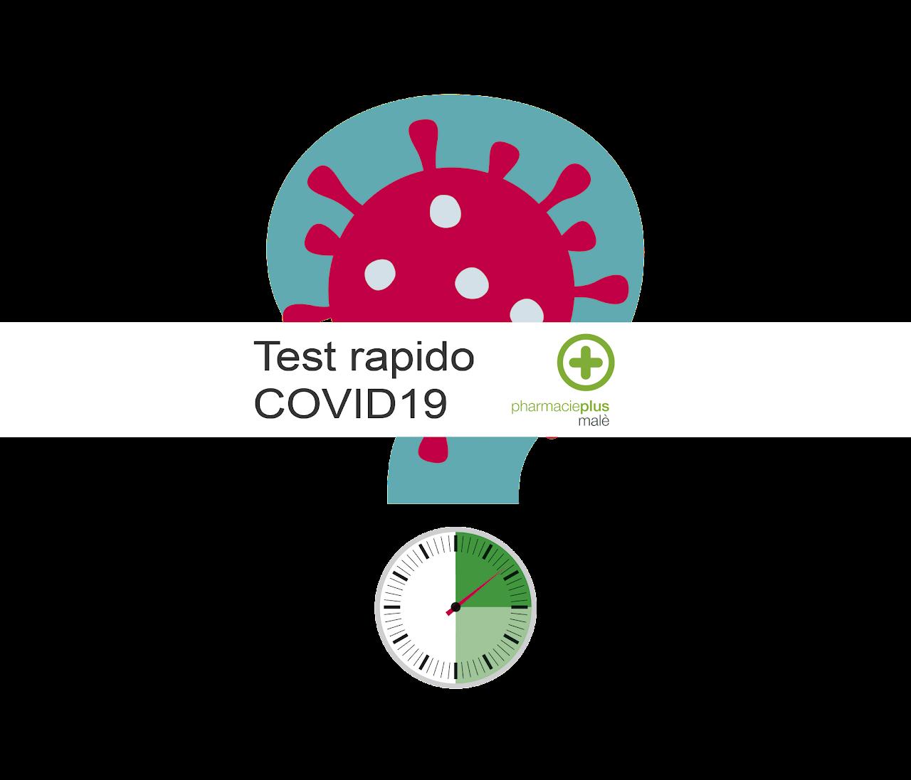 Test rapido COVID19 farmacia malè Bellinzona